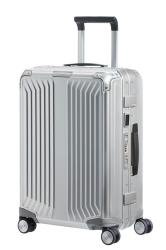 70c44c17e5f9d Samsonite LITE-BOX ALU WALIZKA kabinowa z aluminium NA 4 KOŁACH 55CM CS0-001